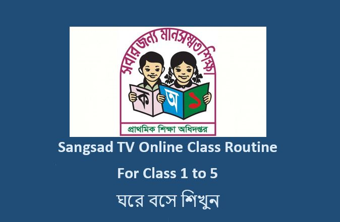 Primary School Online Class 2020