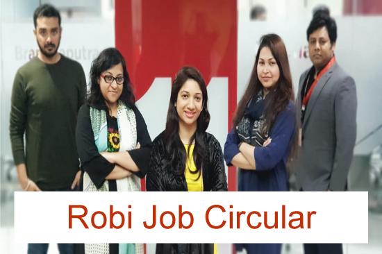Robi Job Circular