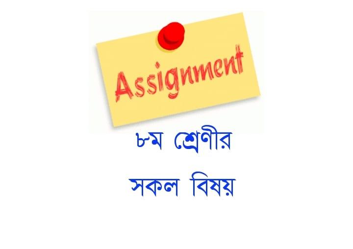 Class 8 Assignment