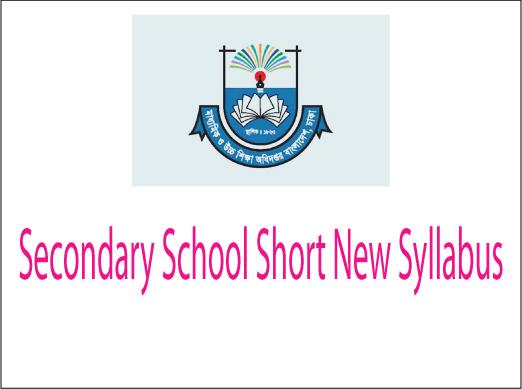 Secondary School Short Syllabus