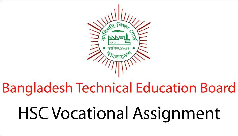 HSC Vocational Assignment Answer