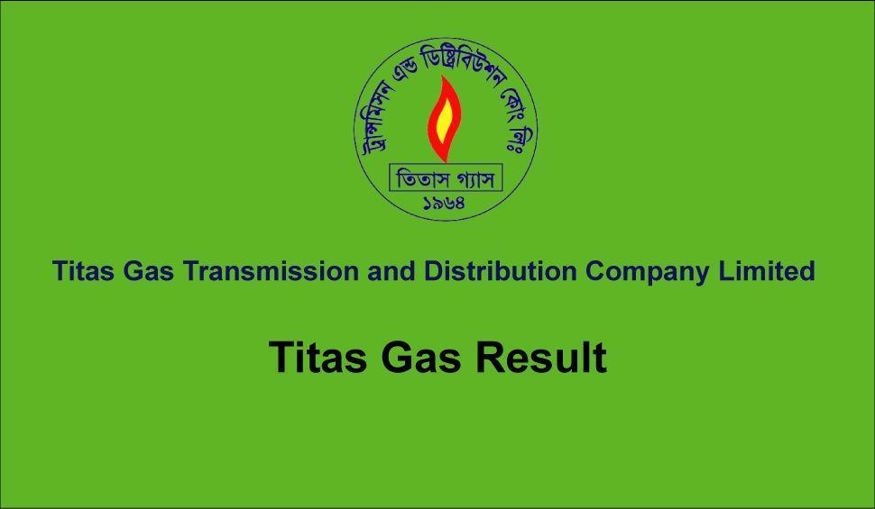 Titas Gas Exam Result