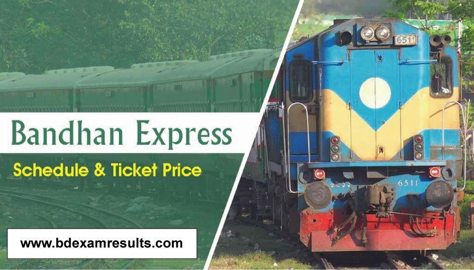 Bandhan Express Train Schedule & Ticket Price