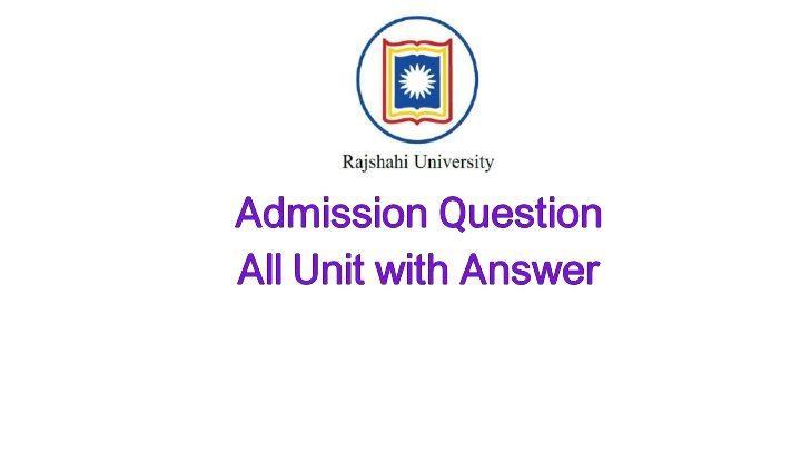 Rajshahi University Question Bank