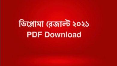BTEB Result 2021 PDF Download