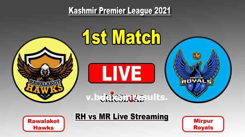 Mirpur Royals vs Rawalakot Hawks KPL Live Match Online