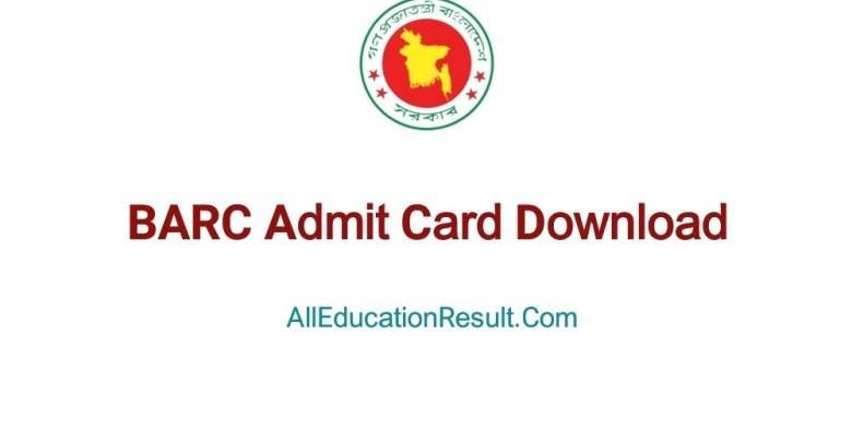 barc-admit-card